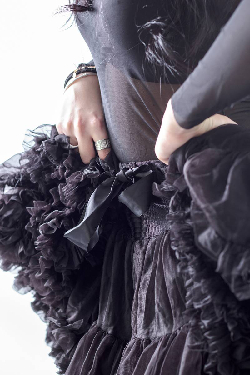 Come indossare il nero con eleganza