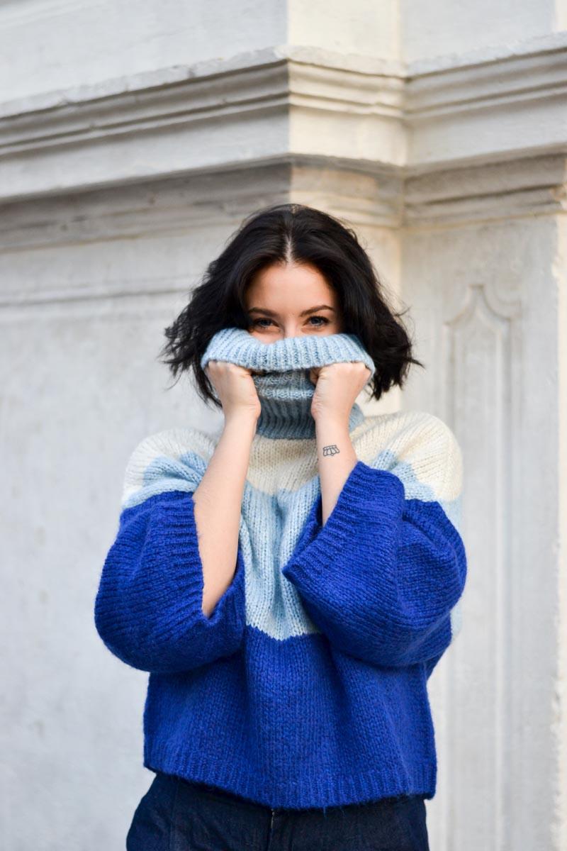 Maglioni colorati per l'inverno 2018