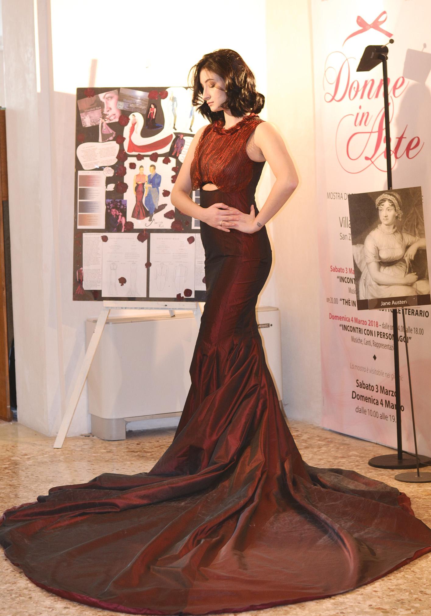 """Mostra """"Donne In Arte"""": il mio abito principesco"""