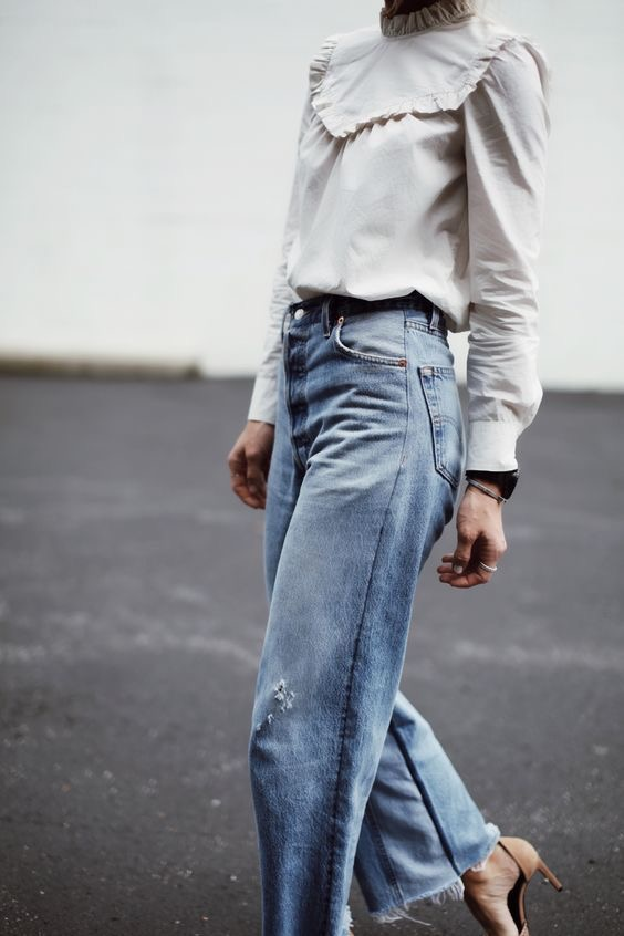 Jeans di Tendenza per la Primavera/Estate 2018: moda Total Denim